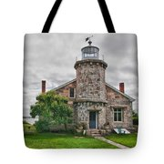 Stonington Lighthouse Museum Tote Bag