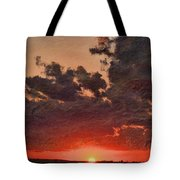 Stony Clouds Tote Bag