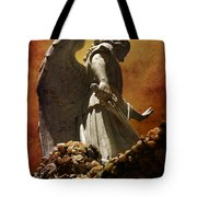 Stop In The Name Of God Tote Bag