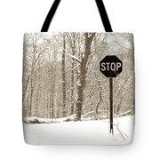 Stop Snowing Tote Bag