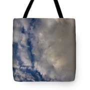 Storm Breaking Up Tote Bag