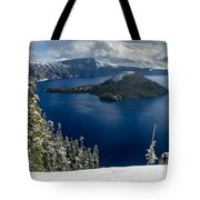 Storm Clearing At Discovery Point Tote Bag