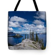 Storm Clearing From Discovery Point Tote Bag