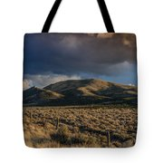 Storm Clearing Over Great Basin Tote Bag