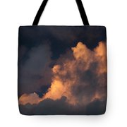 Storm Cloud Highlighted By Sun Tote Bag
