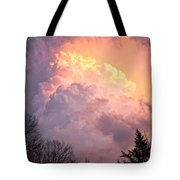 Storm Cloud Moving In On West Michigan Tote Bag