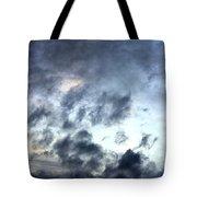 Storm Clouds At Dawn Tote Bag