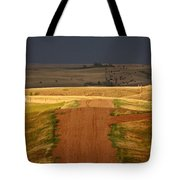 Storm Clouds In Saskatchewan Tote Bag by Mark Duffy