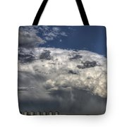 Storm Clouds Thunderhead Tote Bag by Mark Duffy