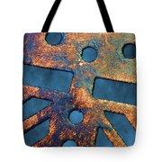 Storm Drain Tote Bag