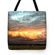 Storm Glow Tote Bag