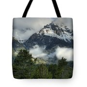 Storm  In The Tetons Tote Bag