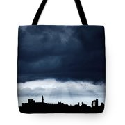 Storm Over City, Tyne And Wear, England Tote Bag