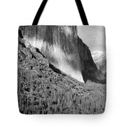 Storm Over El Capitan Tote Bag