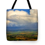 Storm Over The Kittitas Valley Tote Bag