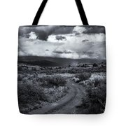 Storm Track Tote Bag