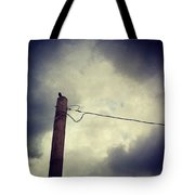 #storm Watcher Tote Bag