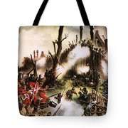 Storming Of Maori Fort  Tote Bag