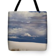 Storm's Contrast With White Sand Tote Bag