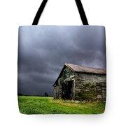 Stormy Barn Tote Bag