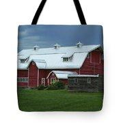 Stormy Barnyard Tote Bag