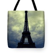 Stormy Day In Paris Tote Bag by Carol Groenen