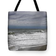 Stormy Day In Surfside Tote Bag