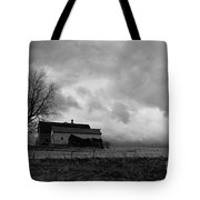 Stormy Day On The Farm Tote Bag