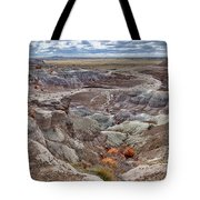 Stormy Morning At Petrified Forest  Tote Bag