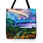 Stormy Road Tote Bag