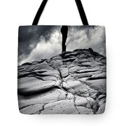 Stormy Silhouette Tote Bag