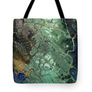 Stormy Waterspout Tote Bag