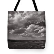 Stormy Wyoming Sky Tote Bag