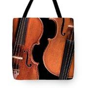 Stradivarius Violin And Maggini Viola Tote Bag