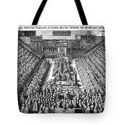 Strafford Trial, 1641 Tote Bag