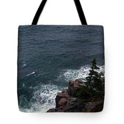 Straight Down Tote Bag