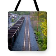 Straight Line Tote Bag