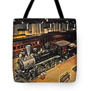 Strasburg Railroad Museum Tote Bag