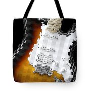 Classic Guitar Abstract 2 Tote Bag