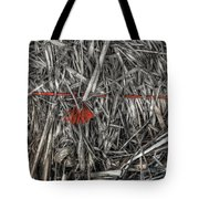 Straw Bale Tote Bag