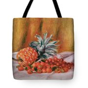 Strawberries And Pineapple Tote Bag