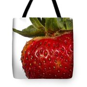 Strawberry Close Up No.0011 Tote Bag