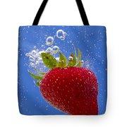 Strawberry Soda Dunk 3 Tote Bag by John Brueske