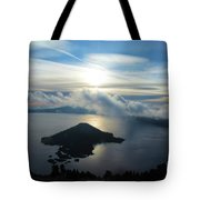 Streaks Above The Wizard Tote Bag