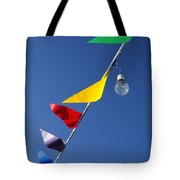 Street Decorations Tote Bag