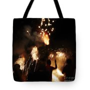 Street Fire Tote Bag