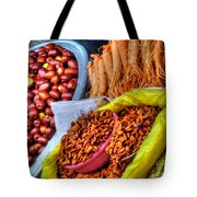Street Food Snacks In Seoul Tote Bag