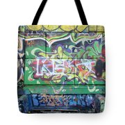 Street Graffiti - Tubs IIi Tote Bag
