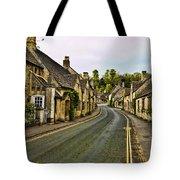 Street In Castle Combe Tote Bag