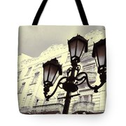 Street Lamps Of Budapest Hungary Tote Bag